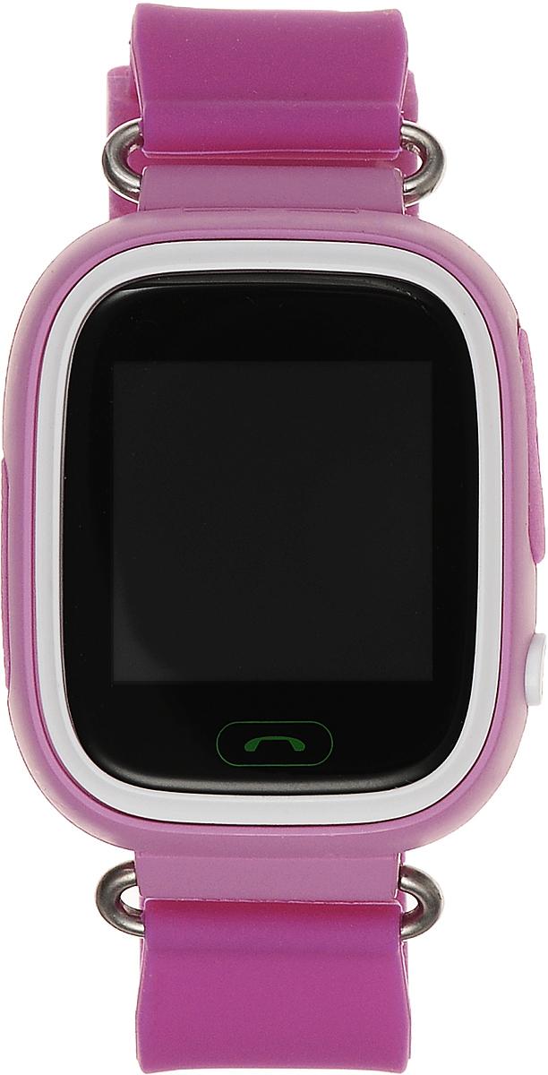 TipTop 80ЦС, Pink детские часы-телефон00122Детские умные часы-телефон TipTop с GPS-трекером созданы специально для детей и их родителей. С ними вы всегда будете знать, где находится ваш ребенок и что рядом с ним происходит. Как они работают и какие имеют преимущества? Управление часами происходит полностью через мобильное приложение, которое можно бесплатно скачать на AppStore или PlayMarket. Основные функции: 1. Родители с помощью мобильного приложения всегда видят на карте, где находится их ребенок. 2. В часы вставляется сим-карта. Родители всегда могут позвонить на часы, также ребенок может позвонить с часов на 3 самых важных номера - мама, папа, бабушка. Также можно разрешать или запрещать номерам звонить на часы, например, внести в список разрешенных звонков только номера телефонов близких и родных. 3. Родители могут слушать, что происходит рядом с ребенком - как няня обращается с ребенком, как ребенок отвечает на уроках. 4. На часах есть кнопка SOS - в случае опасности ребенок...