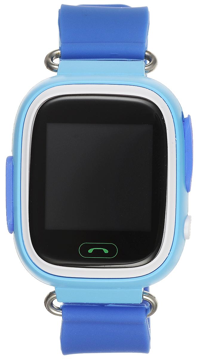 TipTop 80ЦС, Light Blue детские часы-телефон00123Детские умные часы-телефон TipTop 80ЦС с GPS-трекером созданы специально для детей и их родителей. С ними вы всегда будете знать, где находится ваш ребенок и что рядом с ним происходит.Как они работают и какие имеют преимущества? Управление часами происходит полностью через мобильное приложение, которое можно бесплатно скачать на AppStore или PlayMarket.Основные функции:Родители с помощью мобильного приложения всегда видят на карте, где находится их ребенокВ часы вставляется сим-карта. Родители всегда могут позвонить на часы, также ребенок может позвонить с часов на 3 самых важных номера - мама, папа, бабушка. Также можно разрешать или запрещать номерам звонить на часы, например, внести в список разрешенных звонков только номера телефонов близких и родныхРодители могут слушать, что происходит рядом с ребенком - как няня обращается с ребенком, как ребенок отвечает на уроках.На часах есть кнопка SOS - в случае опасности ребенок нажимает на эту кнопку, и часы автоматически дозваниваются на все 3 номера - кто быстрее ответит. Также высылают сообщение родителям с координатами ребенкаДатчик снятия с руки - если ребенок снимет часы, то автоматически на телефон родителя придет уведомление. Также приходят уведомления, если часы разряженыВозможность установить гео-забор - зону, за которую ребенку не следует выходить. Если ребенок вышел - приходит уведомление на телефонФитнес-трекер - шагомер, пройденное расстояние, качество сна, потраченное количество калорийВ каком возрасте ребенку особенно необходимы часы TipTop с функцией GPS?Когда ребенок начинает ходить: уже с этого момента возникает опасность, что он может потеряться в многолюдных местах - супермаркете, аэропортах, вокзалах. Вы сможете отследить его месторасположение по GPS в любой момент. Напишите ФИО и ваш телефон на ремешке часов, если ваш малыш ещё не умеет разговаривать. С 3 до 8 лет: опасность потеряться в этом возрасте ещё выше. Как правило, дети ещё не знают наизу