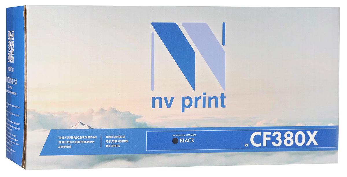 NV Print CF380XBk, Black тонер-картридж для HP Color LaserJet Pro MFP M476NV-CF380XBkСовместимый лазерный картридж NV Print CF380XBk для печатающих устройств HP - это альтернатива приобретению оригинальных расходных материалов. При этом качество печати остается высоким. Картридж обеспечивает повышенную чёткость чёрного текста и плавность переходов оттенков серого цвета и полутонов, позволяет отображать мельчайшие детали изображения. Лазерные принтеры, копировальные аппараты и МФУ являются более выгодными в печати, чем струйные устройства, так как лазерных картриджей хватает на значительно большее количество отпечатков, чем обычных. Для печати в данном случае используются не чернила, а тонер.
