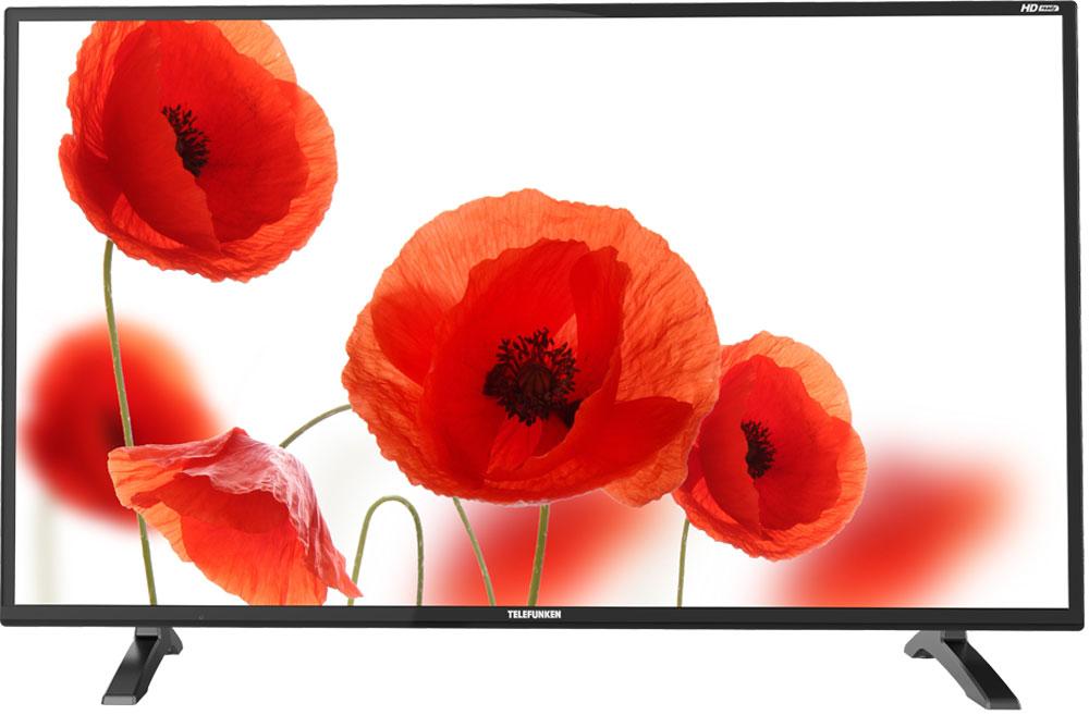 Telefunken TF-LED32S40T2, Black телевизорTF-LED32S40T2(ЧЕРНЫЙ)Тонкий корпус и эргономичный дизайн позволяют модели Telefunken TF-LED32S40T2 прекрасно смотреться в любом помещении. Тюнер телевизора обеспечивает прием аналогового, эфирного (DVB-T/T2), а также кабельного (DVB-С) и спутникового (DVB-S / S2) вещания. В режиме цифрового ТВ доступна функция PVR. Telefunken TF-LED32S40T2 поддерживает воспроизведение основных форматов аудио, видео, текста и фотографий: JPEG, MP3, AVI, MP4, MKV, Xvid. H.264, Dolby Digital (AC3). В телевизоре представлены два HDMI-разъема. Благодаря данному разъему можно не только подключать внешние носители информации, но и использовать телевизор в качестве монитора. В качестве дополнительных приятных особенностей TF-LED32S40T2 можно выделить память на 100 аналоговых + 1000 цифровых каналов, поддержку телетекста, цифровой гребенчатый фильтр.