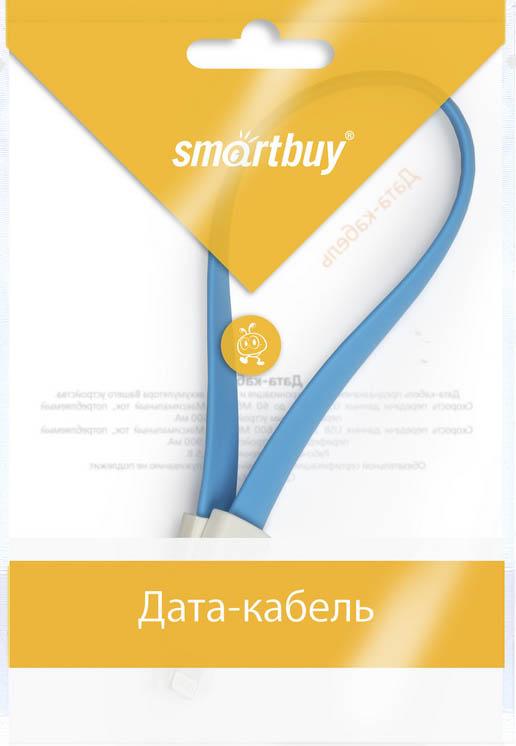 Smartbuy iK-502m, Blue дата-кабель USB-8-pin (0,2 м)iK-502m blueКабель Smartbuy iK-502m, для подключения устройств Apple к USB-порту компьютера или зарядки. Позволяет производить быструю зарядку электронного устройства и обеспечивает надежную синхронизацию с PC или Mac.