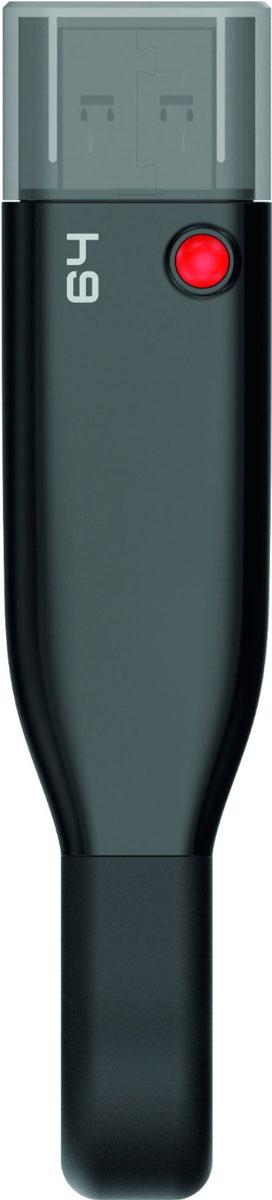 Emtec iCobra 64GB, Black USB-накопительECMMD64GT503V2BФлеш-накопители Emtec iCobra позволяют заряжать устройства Apple, а также защитить ваши личные данные и многое другое!Вы также сможете быстро передать нужные файлы на iCobra, тем самым освободив место на iPhone или IPad; воспроизводить фильмы и музыку с накопителя на мобильном устройстве; резервное копировать или обмениваться файлами между вашим iPhone, IPad или Mac/PC; хранить видео- или фотоальбомы на iCobra, если память вашего iPhone заполнена.Благодаря Emtec Connect AP все ваши файлы могут быть разделены по группам, например файлы, полученные через MMS, по электронной почте или через социальные сети. Два тонких разъемы совместимы с любым слотом, а гибкий кабель не мешает в использовании устройства.Совместимые ОС: Windows 10, 8, 7, Vista, XP, Me, 2000 / Mac OS X / Linux 2.6x