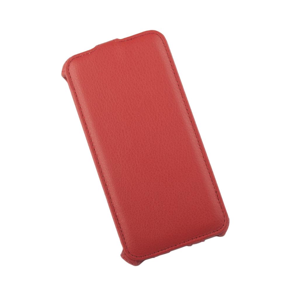 Liberty Project чехол-флип для Apple iPhone 6 Plus/6s Plus, Red0L-00002597Флип-чехол Liberty Project для Apple iPhone 6 Plus/6s Plus надежно защищает ваш смартфон от внешних воздействий, грязи, пыли, брызг. Он также поможет при ударах и падениях, не позволив образоваться на корпусе царапинам и потертостям. Обеспечивает свободный доступ ко всем разъемам и элементам управления.