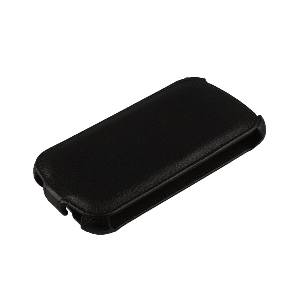 Liberty Project чехол-флип для Lenovo A690, BlackR0005388Флип-чехол Liberty Project для Lenovo A690 надежно защищает ваш смартфон от внешних воздействий, грязи, пыли, брызг. Он также поможет при ударах и падениях, не позволив образоваться на корпусе царапинам и потертостям. Обеспечивает свободный доступ ко всем разъемам и элементам управления.