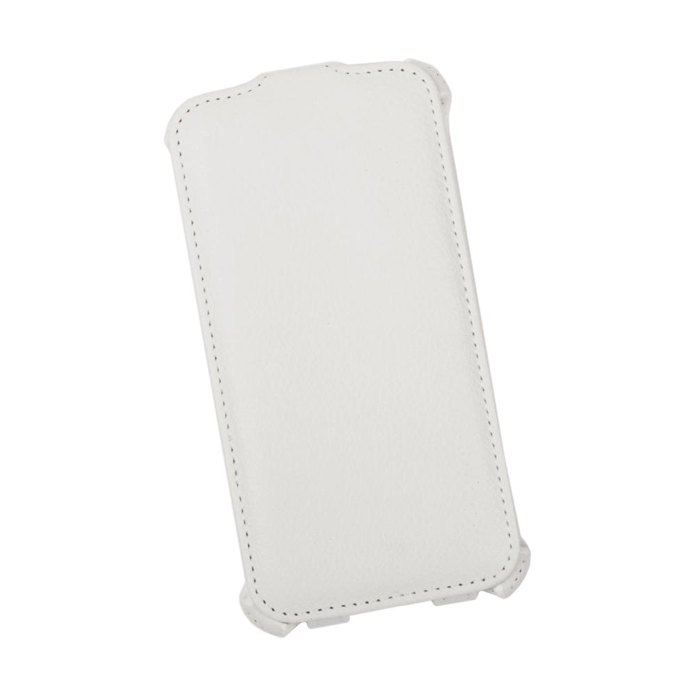 Liberty Project чехол-флип для Samsung Galaxy S5, WhiteR0005403Флип-чехол Liberty Project для Samsung Galaxy S5 надежно защищает ваш смартфон от внешних воздействий, грязи, пыли, брызг. Он также поможет при ударах и падениях, не позволив образоваться на корпусе царапинам и потертостям. Обеспечивает свободный доступ ко всем разъемам и элементам управления.