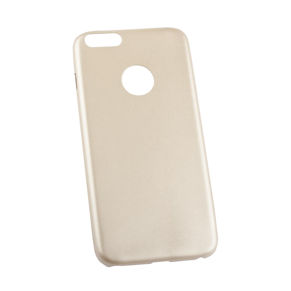 Liberty Project чехол для Apple iPhone 6 Plus/6s Plus, GoldR0007659Чехол Liberty Project для Apple iPhone 6 Plus/6s Plus надежно защищает ваш смартфон от внешних воздействий, грязи, пыли, брызг. Он также поможет при ударах и падениях, не позволив образоваться на корпусе царапинам и потертостям. Чехол обеспечивает свободный доступ ко всем разъемам и кнопкам устройства.
