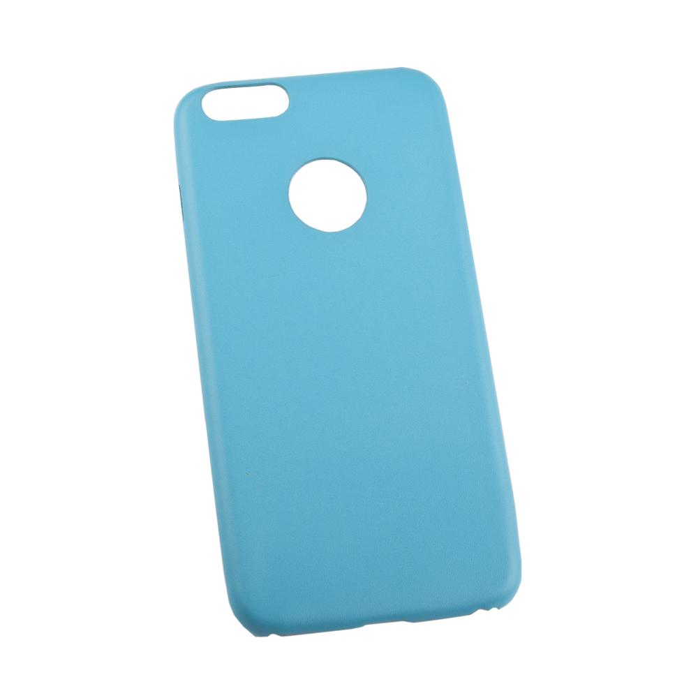 Liberty Project чехол для Apple iPhone 6 Plus/6s Plus, BlueR0007661Чехол Liberty Project для Apple iPhone 6 Plus/6s Plus надежно защищает ваш смартфон от внешних воздействий, грязи, пыли, брызг. Он также поможет при ударах и падениях, не позволив образоваться на корпусе царапинам и потертостям. Чехол обеспечивает свободный доступ ко всем разъемам и кнопкам устройства.
