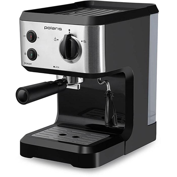 Polaris PCM 1517AE кофеваркаPCM 1517AEPolaris PCM 1517AE - кофеварка для настоящих кофейных ценителей. Она поможет не только проснуться, но получить отличный заряд бодрости на весь день. Удобная в использовании модель оснащена всем необходимым для идеального процесса приготовления кофе – в комплект входят съемный поддон, резервуар для воды и фильтр. А специально для тех, кто хочет разнообразить свой утренний кофе, Polaris добавили специальные трафареты для рисунков на молочной пене. С их помощью вы сможете создавать кофейные шедевры каждый день! Polaris PCM 1517AE - совершенство технологий и стиля: давление в 15 Бар идеально подходит для создания эспрессо – кофе с интенсивным ароматом и молочной пенкой. А благодаря компактному размеру, стильному матовому покрытию и мягкой подсветке кнопок кофеварка станет украшением вашей кухни. Прорезиненные ножки Подсветка кнопок Съемный поддон для сбора капель