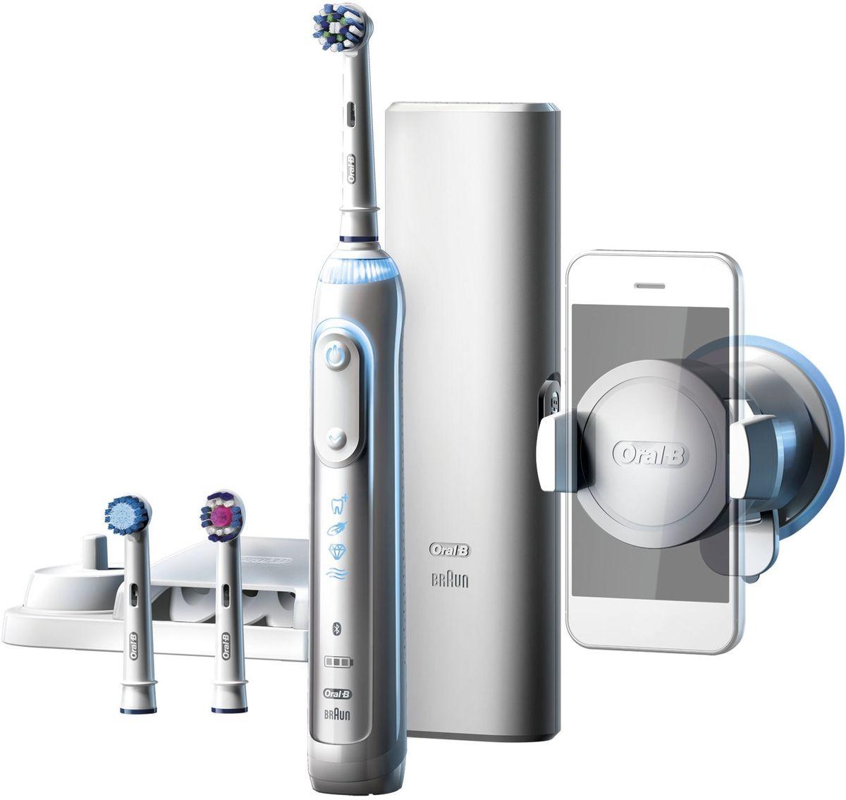 Oral-B Genius 8000, White электрическая зубная щетка