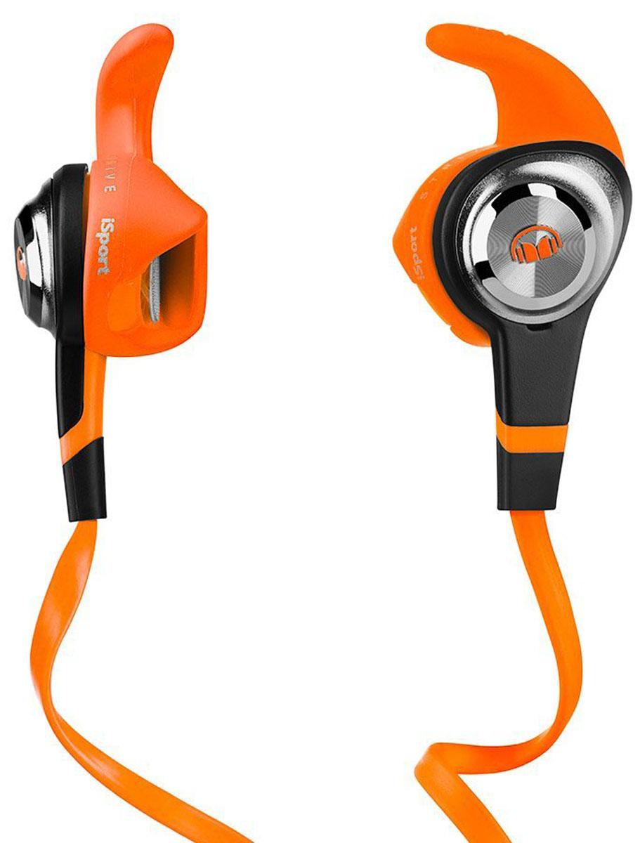 Monster iSport Strive, Orange наушники137029-00Monster iSport Strive - самая компактная и доступная модель в линейке iSport. Частичная звукоизоляция позволяет вам полноценно присутствовать сразу в двух мирах: в мире спорта и в мире музыки. Вы одновременно слышите происходящее вокруг вас и наслаждаетесь прекрасным звуком с технологией Pure Monster Sound Лучшее их двух миров: спорт и музыка Strive обеспечивает захватывающий звук и в то же самое время держит вас в курсе происходящего вокруг. Вы можете играть в баскетбол, кататься на сноуборде или общаться с друзьями, всё это совмещая с любимой музыкой. Они не выпадут Запатентованная конструкция Monster SportClip рассчитана на то, чтобы оставаться в ухе, что бы вы ни делали. Музыка не остановится, катаетесь ли вы на велосипеде или бегаете по футбольному полю. Влагостойкие. Моющиеся. С антибактериальным покрытием Насадки с антибактериальным покрытием легко моются водой с небольшим количеством мыла. Плоский кабель,...