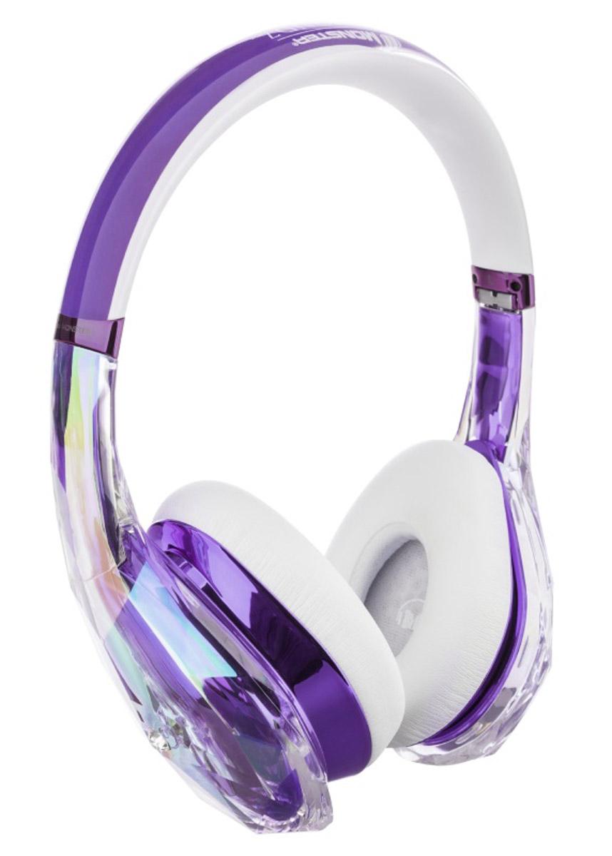 Monster DiamondZ, Purple White наушники137016-00Наушники Diamondz созданы как объект высокой моды, спроектированы с неограниченной фантазией и с использованием только лучших материалов. Когда вы слушаете Diamondz, Вы слушаете музыку, как не слышали никогда раньше. Для звука высокой четкости нужны особая технология динамиков и качественные материалы. Только таким образом можно получить качество звука, заявленное в наушниках Diamondz. Технология Diamondz не использует схемы усиления или шумоподавления, которые добавляют непредусмотренные композицией частоты и краски звука, поэтому вы слышите музыку во всей ее аутентичности и бескомпромиссности. Громкий, захватывающий бас, волнующие точные средние и сверкающие высокие частоты. Представьте себе самую яркую и убедительную музыкальную систему, которую вы когда-либо слышали. А теперь представьте, что вы используете ее в качестве наушников. Для высокопроизводительных наушников очень важно удобство. Чтобы бас звучал экстремально чисто и интенсивно, плотные пенные амбушюры...