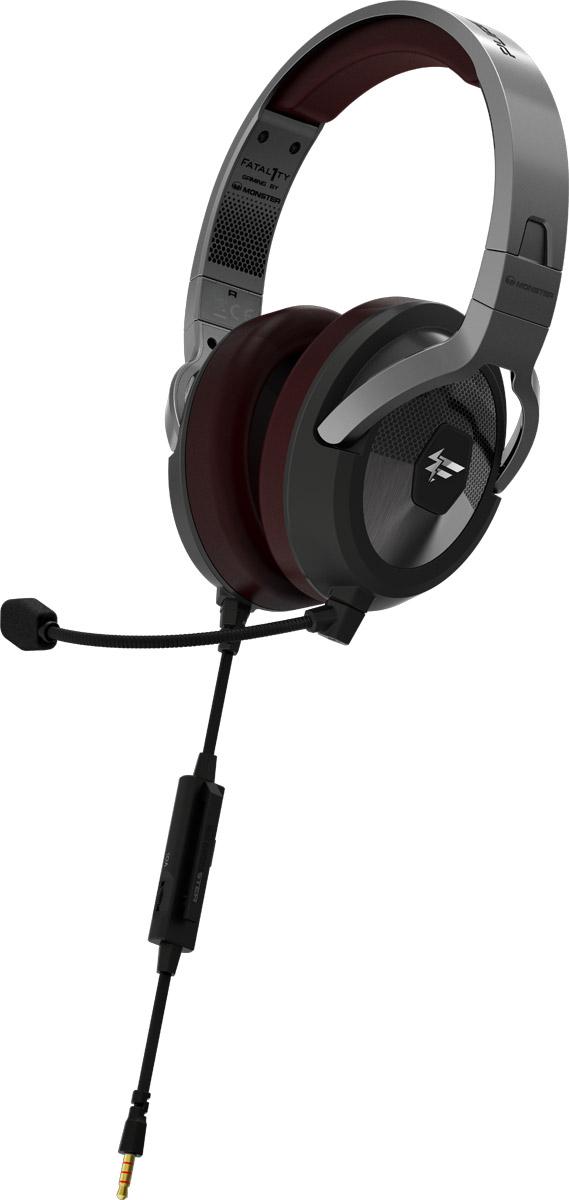 Monster Fatal1ty FXM 200 Ultra, Black игровая гарнитура137049-00Игровая гарнитура Monster Fatal1ty является продуктов совместной разработки бренда Monster и всемирно известного киберспортсмена Джонатана «Fatal1ty» Вендела. Сотрудничество самого успешного в мире геймера и бренда Monster, являющегося одним из главных экспертов в области создания идеального персонального аудио и уникальных технологий воспроизведения звука, позволило создать продукт, отвечающий всем потребностям профессиональных геймеров. В гарнитуре используется эксклюзивная технология fHex720 Sound Chamber Technology, а также специально адаптированная под игровую гарнитуру уникальная технология звука Pure Monster Sound. Идеально сочетающиеся с шумоизолирующими амбушюрами, специально разработанные динамики позволяют вам услышать все оттенки звука в мельчайших деталях. Используя игровую гарнитуру Monster Fatal1ty, вы сможете максимально точно ориентироваться в пространстве, получая преимущество перед соперниками и возможность прочувствовать игру как никогда...