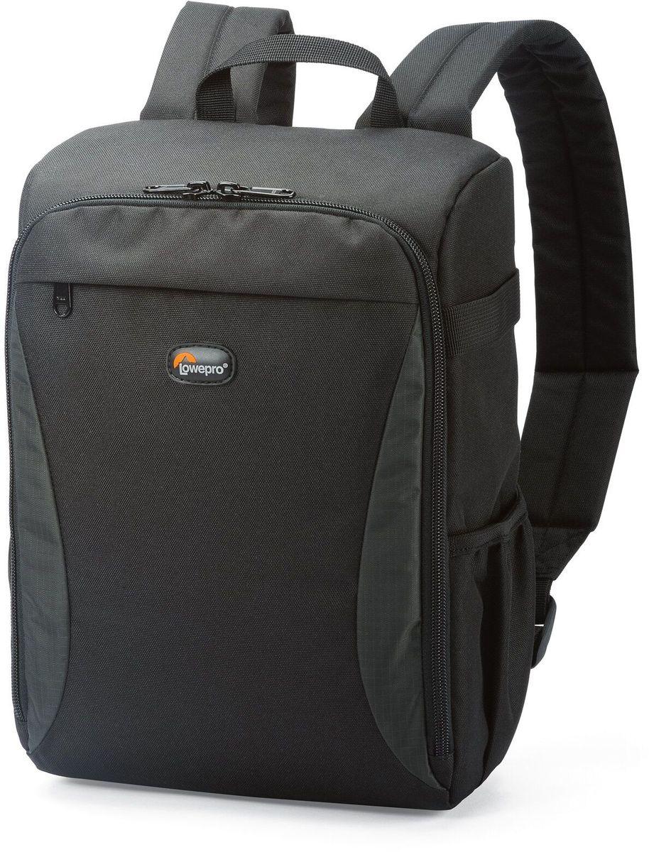 Lowepro Format Backpack 150, Black рюкзак для фотоаппаратаLP36625-PRUЛегкие современные сумки серии Format отлично подойдут для фотографов, которым нужна стильная, компактная и надежная защита своего оборудования. Регулируемые перегородки позволяют организовать внутреннее пространство именно так, как удобно фотографу в конкретной ситуации. Прочный материал, стойкий к любым атмосферным условиям, обеспечит долгий срок службы рюкзака и надежную защиту камеры. Рюкзак компактен и вместителен; он надежно защищает оборудование от механических повреждений и неблагоприятных погодных условий.