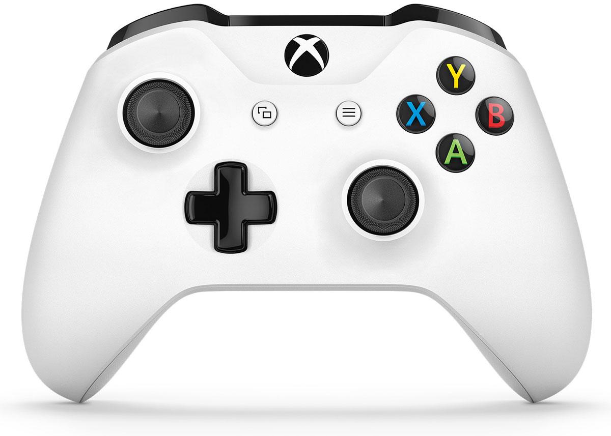 Xbox One Crete беспроводной геймпад белый (White)TF5-00004Беспроводной геймпад Xbox One дает бесподобные ощущения, точность и комфорт. Импульсные триггеры обеспечивают вибрационную обратную связь, так что вы почувствуете малейшую тряску и столкновения с высочайшей точностью. Отзывчивые мини-джойстики и усовершенствованная крестовина повышают точность. Подключите любую совместимую гарнитуру к стандартному 3,5-мм стереогнезду. Геймпад совместим с Xbox One, а также ПК и планшетами с Windows 10. Безупречный геймпад стал еще лучше! Новый беспроводной геймпад Xbox обеспечивает беспрецедентный уровень комфорта и удобства. Он отличается изящной, оптимизированной конструкцией и текстурной поверхностью. Назначайте кнопки по- своему и играйте где угодно, ведь дальность действия увеличилась почти в 2 раза! Подключите к 3,5-мм стереогнезду любую совместимую гарнитуру. А благодаря интерфейсу Bluetooth с этим геймпадом можно играть в любимые игры на ПК и планшетах с Windows 10. Отличительные черты Новый...