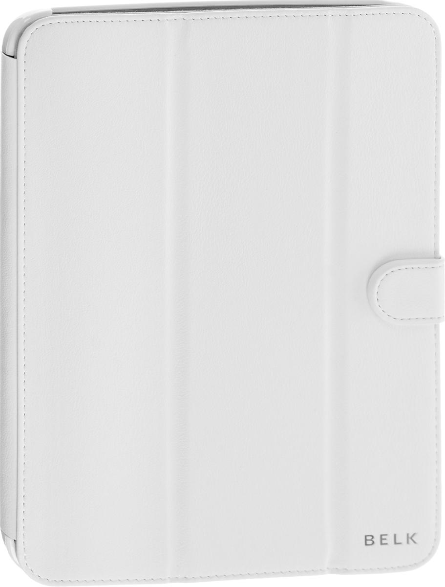 Belk чехол для Samsung Galaxy Tab 3 10.1, WhiteR0000338Чехол Belk для Samsung Galaxy Tab 3 10.1 надежно защищает ваш планшет от внешних воздействий, грязи, пыли, брызг. Он также поможет при ударах и падениях, не позволив образоваться на корпусе царапинам и потертостям. Чехол обеспечивает свободный доступ ко всем функциональным кнопкам и камере устройства.