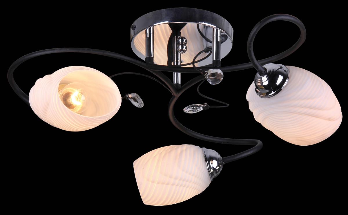 Люстра Natali Kovaltseva, 3 x E27, 60W. 10793/3C10793/3C WENGE, CHROMEВ коллекциях NATALI KOVALTSEVA представлены разные стили – от классики до хайтека. Дизайн и технологическая составляющая продукции разрабатывается в R&D центре компании, который находится в г. Дюссельдорф, Германия. При производстве нашей продукции используются высококачественные и эксклюзивные материалы: хрусталь ASFOR, муранское стекло, перламутр, 24-каратное золото, бронза. Производство светильников соответствует стандарту системы менеджмента качества ISO 9001-2000. На всю продукцию ТМ Natali Kovaltseva распространяется гарантия.