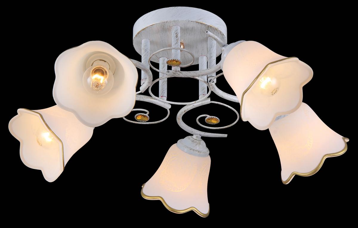 Люстра Natali Kovaltseva, 5 x E14, 40W. 11452/5C11452/5C WHITE GOLDВ коллекциях NATALI KOVALTSEVA представлены разные стили – от классики до хайтека. Дизайн и технологическая составляющая продукции разрабатывается в R&D центре компании, который находится в г. Дюссельдорф, Германия. При производстве нашей продукции используются высококачественные и эксклюзивные материалы: хрусталь ASFOR, муранское стекло, перламутр, 24-каратное золото, бронза. Производство светильников соответствует стандарту системы менеджмента качества ISO 9001-2000. На всю продукцию ТМ Natali Kovaltseva распространяется гарантия.