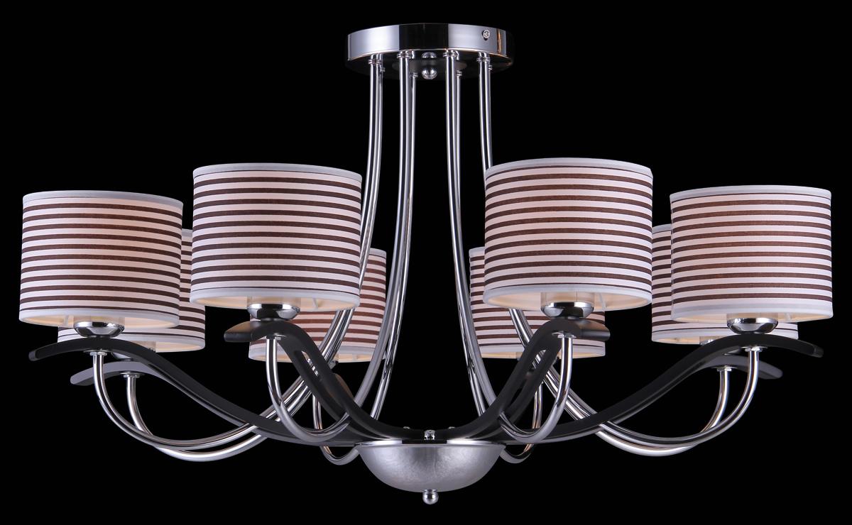 Люстра Natali Kovaltseva, 8 x E27, 40W. 75012-8COLIVIERA 75012-8C CHROMEВ коллекциях NATALI KOVALTSEVA представлены разные стили – от классики до хайтека. Дизайн и технологическая составляющая продукции разрабатывается в R&D центре компании, который находится в г. Дюссельдорф, Германия. При производстве нашей продукции используются высококачественные и эксклюзивные материалы: хрусталь ASFOR, муранское стекло, перламутр, 24-каратное золото, бронза. Производство светильников соответствует стандарту системы менеджмента качества ISO 9001-2000. На всю продукцию ТМ Natali Kovaltseva распространяется гарантия.