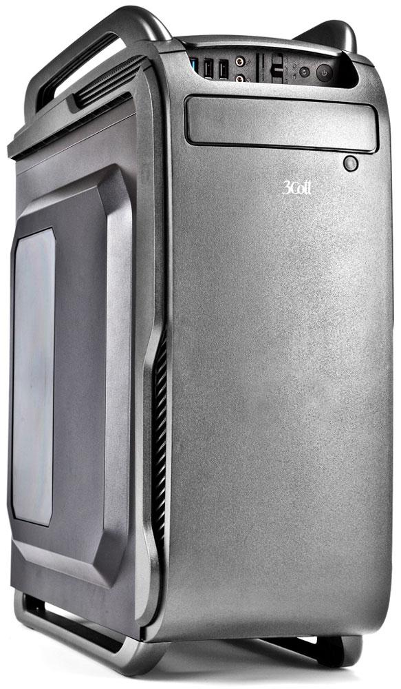 3Cott Collesseum, Grey компьютерный корпус (3C-ATX666GR)