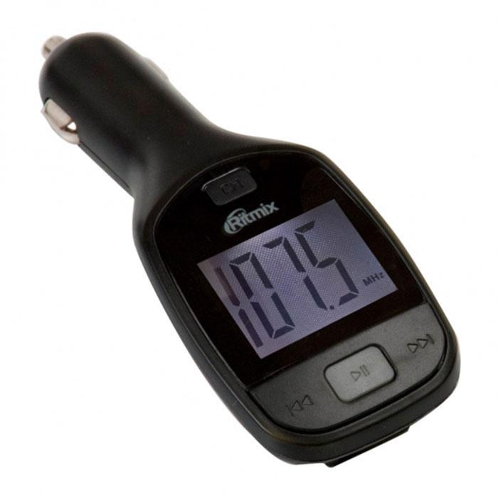 Ritmix FMT-A705 FM-трансмиттерFMT-A705Ritmix FMT-A705 – это удобный и доступный по цене автомобильный FM-трансмиттер с дисплеем, имеющий функцию воспроизведения аудиофайлов непосредственно с карт памяти microSD, SD и USB-накопителей ёмкостью до 32 ГБ. Устройство позволяет слушать вашу любимую музыку или аудиокниги в формате mp3 в любом автомобиле, имеющем FM-радиоприёмник. В комплекте с FMT-A705 идёт пульт дистанционного управления, дающий возможность простого управления воспроизведением, в том числе и с заднего сидения автомобиля. Форматы аудио: MP3 Шаг поиска канала: 0,1 МГц Мощность передатчика: Эквалайзер: 4 режима Диапазон радиочастот: FM 87,5-108 МГц Радиус действия: до 5 м