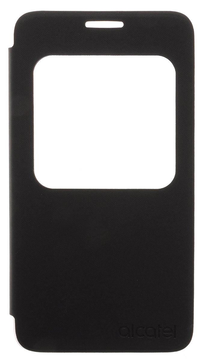 Alcatel Aero Flip Case чехол для Pop 4+ (OT-5056D), Volcano BlackG5056-3AALAFG-RUЧехол-книжка Alcatel Aero Flip Case гарантирует надежную защиту корпуса и экрана смартфона Pop 4+ (OT-5056D) от механических повреждений и надолго сохраняет его привлекательный внешний вид. Обеспечивает свободный доступ ко всем разъемам и клавишам устройства.