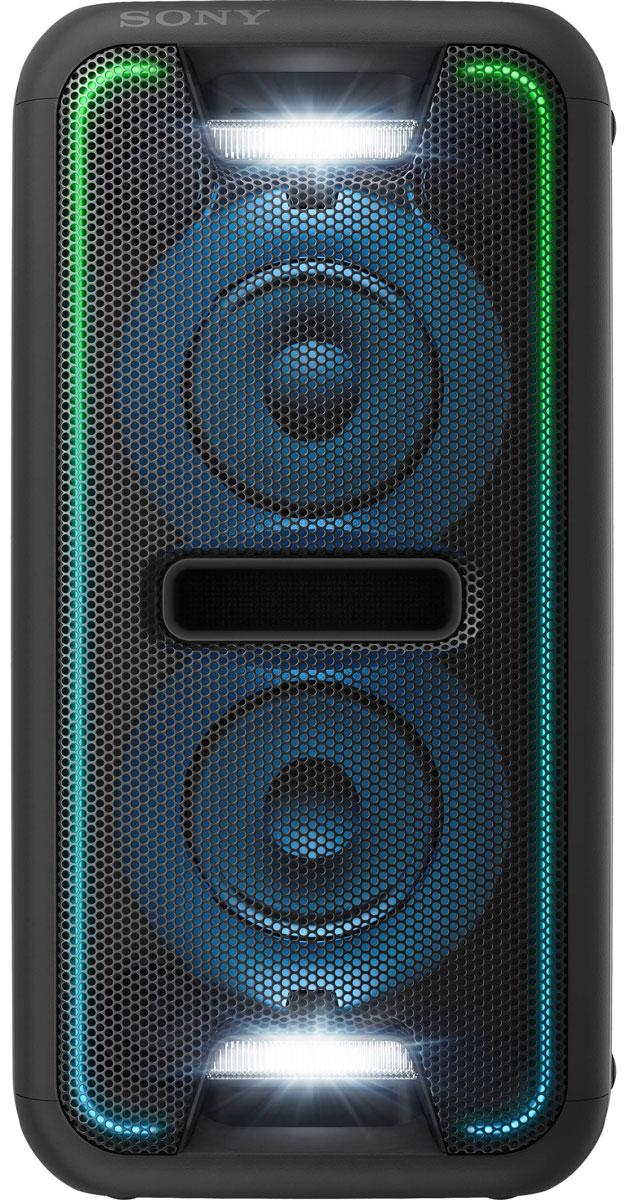 Sony GTK-XB7, Black акустическая системаGTKXB7B.RU1Создайте яркое ощущение праздника для любой вечеринки благодаря мощной моноблочной аудиосистеме Sony GTK-XB7. Функция Extra Bass и яркая подсветка помогут создать клубную атмосферу у вас дома. Активируйте режим с помощью кнопки Extra Bass, чтобы добавить мощности музыке. Этот режим усиливает звучание низких частот и обеспечивает мощный глубокий бас. Просто нажмите на кнопку, чтобы активировать режим, и приготовьтесь к оглушительному насыщенному звучанию басов. Создайте атмосферу клуба с помощью светодиодной подсветки динамика. Динамики со светодиодной подсветкой поддерживают различные многоцветные световые эффекты: от чисто белого до радужного. Синхронизируясь с музыкальным ритмом, сила и частота мерцания подсветки всегда максимально точно передают музыкальное настроение и клубную атмосферу. Удобная двухпозиционная конструкция обеспечивает великолепный звук вне зависимости от особенностей расположения акустической системы. Поставьте...