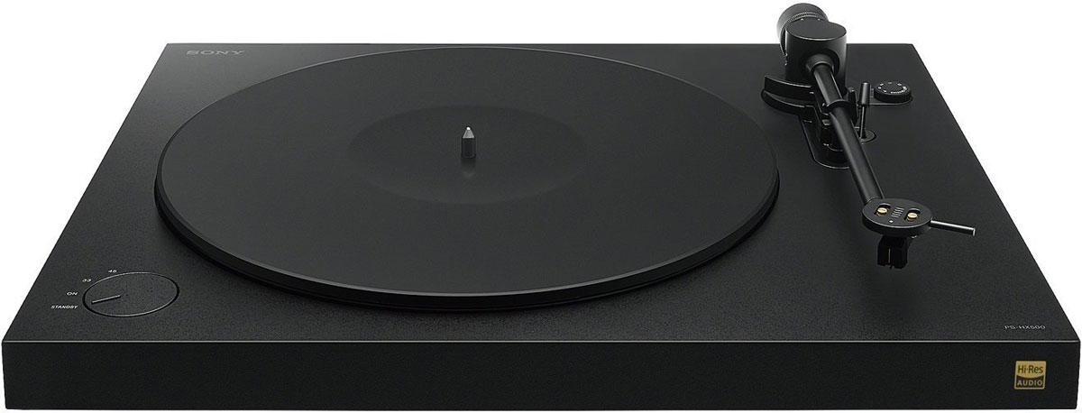 Sony PS-HX500, Black виниловый проигрыватель
