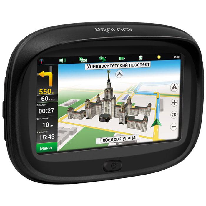 Prology IMAP MOTO автомобильный навигаторPROLOGY IMAP MOTOМотоциклисты, любящие путешествовать, наверняка неоднократно задумывались о приобретении GPS-навигатора. Согласитесь, не слишком-то удобно постоянно останавливаться, чтобы развернуть бумажную карту или поковыряться в телефоне, оснащенном GPS. Кроме того, на мотоциклетном GPS-навигаторе должен быть качественный и яркий экран с удобным и понятным интерфейсом, потому что водитель не должен отвлекаться от дороги, уделяя внимание плохому экрану со сложной системой, что чревато авариями. Стоит также заметить, что сенсорный экран GPS-навигатора для мотоцикла должен быть более чувствительный, ведь байкеры и мотоциклисты управляют транспортом в перчатках, а значит, управлять навигатором, не обладающим хорошо развитой сенсорной системой, достаточно проблематично, ведь никто мотоперчатки снимать не будет. Prology представляет новый продукт в линейке навигационных устройств - портативную навигационную систему для мотоциклистов - Prology iMap Moto . Это пыле- и влагозащищённый...