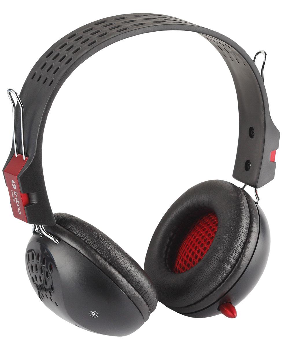 Intro HS809 Jack игровые наушникиHS809Intro HS809 Jack - это игровые наушники с регулируемым пластиковым оголовьем черного цвета. Динамики изделия оборудованы чувствительной мембраной диаметром 40 миллиметров, гарантирующей четкий и ясный звук, а также мягкими амбушюрами. Подключение осуществляется через кабель длиной 2,4 метра, оснащенный интерфейсным разъемом mini-jack. Нет необходимости устанавливать драйверы, просто подключите устройство и начинайте работу.