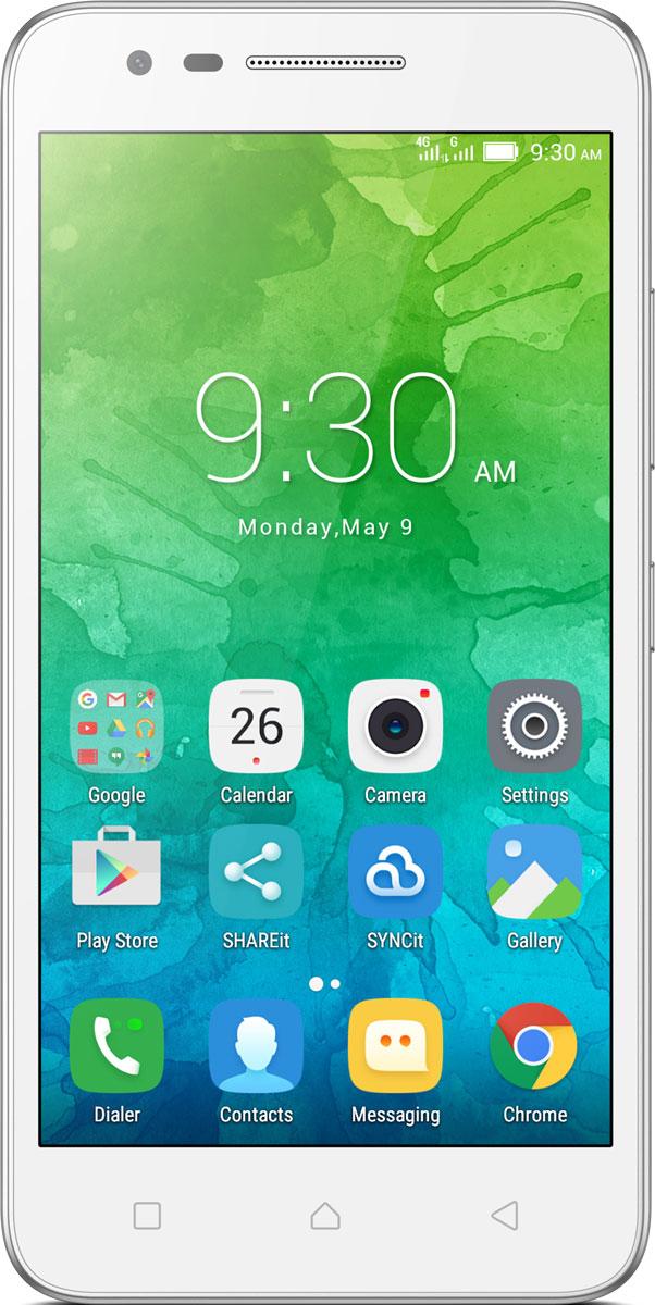 Lenovo C2 Power (K10a40), WhitePA450104RUОтличные смартфоны обычно стоят дорого. Но этого нельзя сказать о Lenovo C2. Стильный смартфон с 5- дюймовым экраном HD, мощным четырехъядерным процессором и двумя камерами высокого разрешения — и все это в стандартной комплектации. Помимо доступной цены и поддержки стандарта 4G, в этом смартфоне есть сменный аккумулятор, слот для карт памяти MicroSD и поддержка Dual SIM. Стильное матовое покрытие и 5-дюймовый дисплей с HD-разрешением: смартфон Lenovo C2 просто нельзя не заметить. Но главной его отличительной особенностью является доступная цена. Смартфон доступен в двух цветах: черном и белом. Узнавай новости и получай необходимую информацию одним движением, не переключаясь между приложениями и не сворачивая экран. Благодаря технологии энергосбережения смартфон работает дольше. Используй приложения и переключайся между ними так, как тебе удобно. Все эти задачи и многие другие возможности доступны благодаря операционной системе Android 6.0...