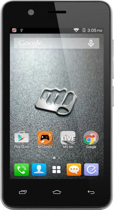 Micromax Bolt Q326, GreyQ326Будьте готовы к быстрой работе. Представляем Micromax Bolt Q326 - смартфон отлично подходящий для серфинга в интернете, прослушивания музыки, просмотра видео и многих других развлечений. Насладитесь быстрой и плавной работой системы и приложений. Отличную производительность обеспечивает четырехъядерный процессор Spreadtrum SC7731 с частотой 1.3 ГГц. Смотрите свои любимые видео и фильмы на четком и ярком 4-дюймовом экране Micromax Bolt Q326. В Micromax Bolt Q326 вы можете увеличить место для своих фото, видео и любимых фильмов с помощью карт памяти. Поддерживают карты памяти размером до 32 ГБ! Оставайтесь на связи на двух разных номерах одновременно благодаря поддержке двух SIM-карт. Micromax Bolt Q326 позволяет формировать ваш бюджет на связь более гибко. Телефон сертифицирован EAC и имеет русифицированный интерфейс меню и Руководство пользователя.