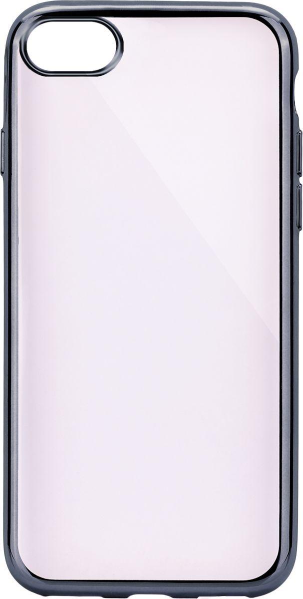 Interstep Frame чехол для Apple iPhone 7, TitaniumHFR-APIPH07K-NP1119O-K100Стильный ультратонкий чехол Interstep Frame для Apple iPhone 7 обеспечивает надежную защиту корпуса смартфона от механических повреждений и надолго сохраняет его привлекательный внешний вид. Элегантное гальванопокрытие не подвержено стиранию, модная цветовая гамма рамки сочетается с цветами смартфонов Apple, выгодно подчеркивая их. Чехол также обеспечивает свободный доступ ко всем разъемам и клавишам устройства.