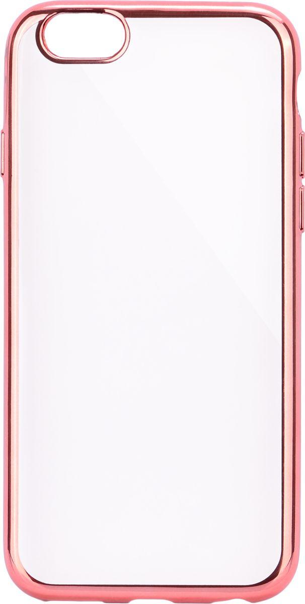 Interstep Frame чехол для Apple iPhone 6/6s, PinkHFR-APIPHN6K-NP1105P-K100Стильный ультратонкий чехол Interstep Frame для Apple iPhone 6/6s обеспечивает надежную защиту корпуса смартфона от механических повреждений и надолго сохраняет его привлекательный внешний вид. Элегантное гальванопокрытие не подвержено стиранию, модная цветовая гамма рамки сочетается с цветами смартфонов Apple, выгодно подчеркивая их. Чехол также обеспечивает свободный доступ ко всем разъемам и клавишам устройства.