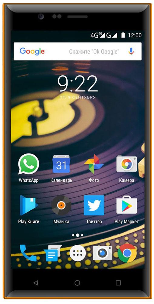 Highscreen Boost 3 SE, Blue Orange23520Highscreen Boost 3 SE раскроет потенциал топовых моделей наушников. Специалисты Highscreen совместно с энтузиастами качественного звучания сделали все возможное, чтобы достичь лидирующего звука. Ваши уши расскажут вам гораздо больше чем буквы и цифры. Highscreen Boost 3 SE предлагает совершенно новый подход к прослушиванию музыки, теперь любой плеер может использовать все преимущества фирменного звукового тракта HI SOUND, обойдя ограничения ОС Android.В телефоне используется прямая передача аудиопотока на внутренний DAC в обход ограничений операционной системы Android, которая осуществляет даунсемплинг любого сигнала с частотой дискретизации выше 48 кГц. Фирменный плеер обеспечит максимальное хорошее качество звука. Телефон Highscreen Boost 3 SE воспроизводит все популярные форматы файлов, включая wav, flac, mp3 и DSD. Аппарат поддерживает UPnP/DLNA, воспроизведение файлов из сети с доступом по Samba, потоковое аудио с радиостанций (поддерживаются потоки .m3u, .pls, .asx и AAC/mp3)В обновленном Boost 3 SE Highscreen увеличили емкость батарей, оставив прежние габариты и теперь она составляет 3100 мАч и 6900 мАч. Аппарат поддерживает быструю зарядку, позволяя сократить время ожидания у розетки.Яркий и контрастный Full HD экран, выполненный по технологии IPS, обеспечивает потрясающую цветопередачу и позволяет наслаждаться любимыми фильмами, фотографиями и играми. С помощью технологии MiraVision вы без особых усилий сможете настроить экран по своему усмотрению. Сенсор 13 МП камеры Boost 3 SE выполнен по технологии ISOCELL, повышающей светочувствительность на 30% по сравнению с обычными BSI-сенсорами. Камера обладает улучшенной точностью цветопередачи, в том числе в условиях недостаточной освещенности. Фазовый автофокус обеспечивает мгновенную (0.1 с) и точную фокусировку.Шестилинзовая оптика, выполненная по технологии Blue Glass, обеспечивает получения великолепных снимков без каких-либо искажения цветовой гаммы, независимо от поло