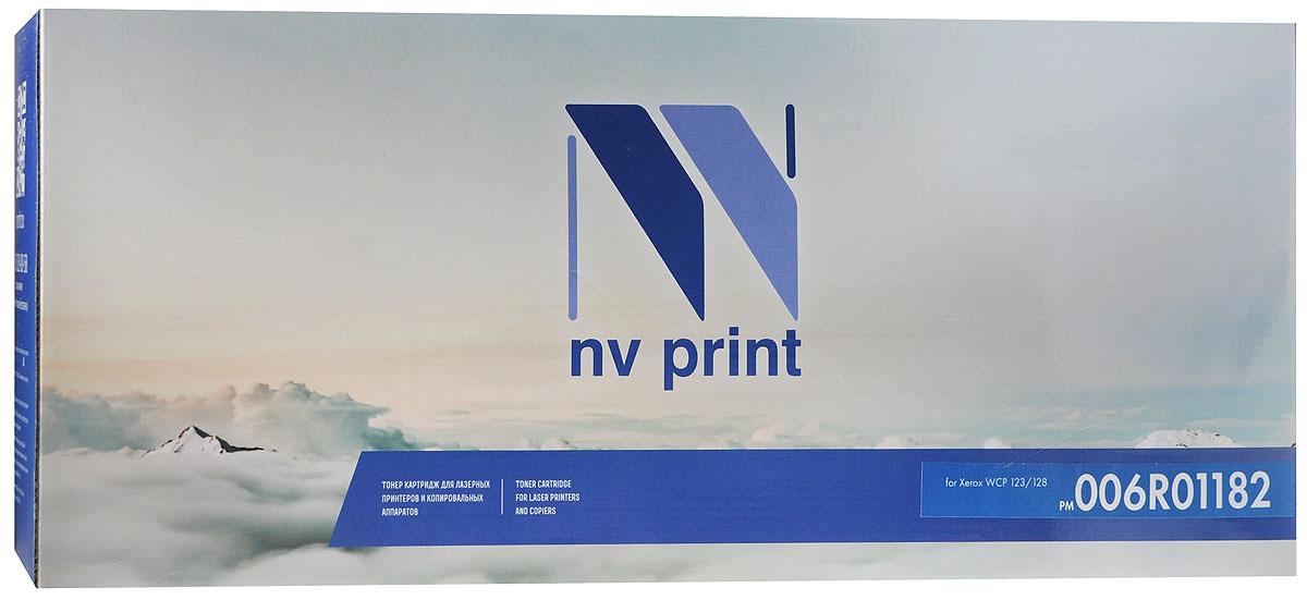 NV Print 006R01182, Black тонер-картридж для Xerox WCP 123/128006R01182Совместимый лазерный картридж NV Print 006R01182 для печатающих устройств Xerox - это альтернатива приобретению оригинальных расходных материалов. При этом качество печати остается высоким.Лазерные принтеры, копировальные аппараты и МФУ являются более выгодными в печати, чем струйные устройства, так как лазерных картриджей хватает на значительно большее количество отпечатков, чем обычных. Для печати в данном случае используются не чернила, а тонер.