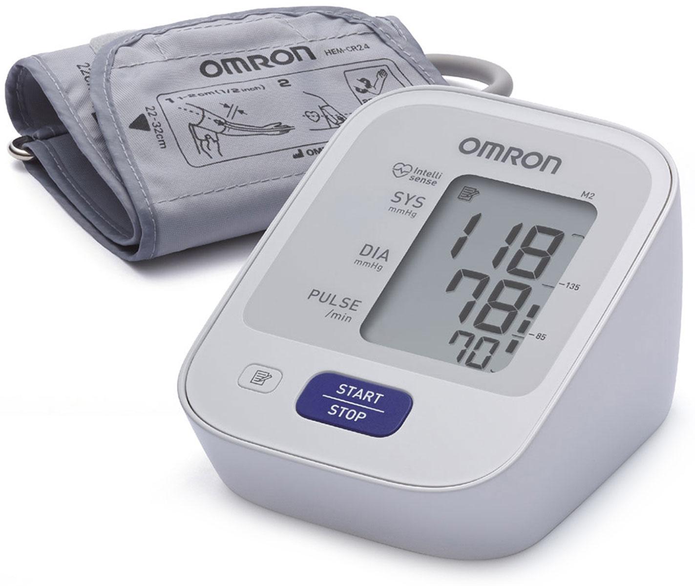 Omron M2 Basic тонометр + адаптер HEM-7121-ARUУТ000001757Предупредить инсульт в ваших силах! Тонометр Omron помогает контролировать артериальную гипертонию — основной фактор риска развития инсульта. Работает с детской манжетой 17-22 см - контроль оптимального давления в манжете Комплект поставки: Электронный блок, манжета компрессионная CM, руководство по эксплуатации, чехол для хранения прибора, комплект элементов питания, журнал для записи артериального давления, гарантийный талон