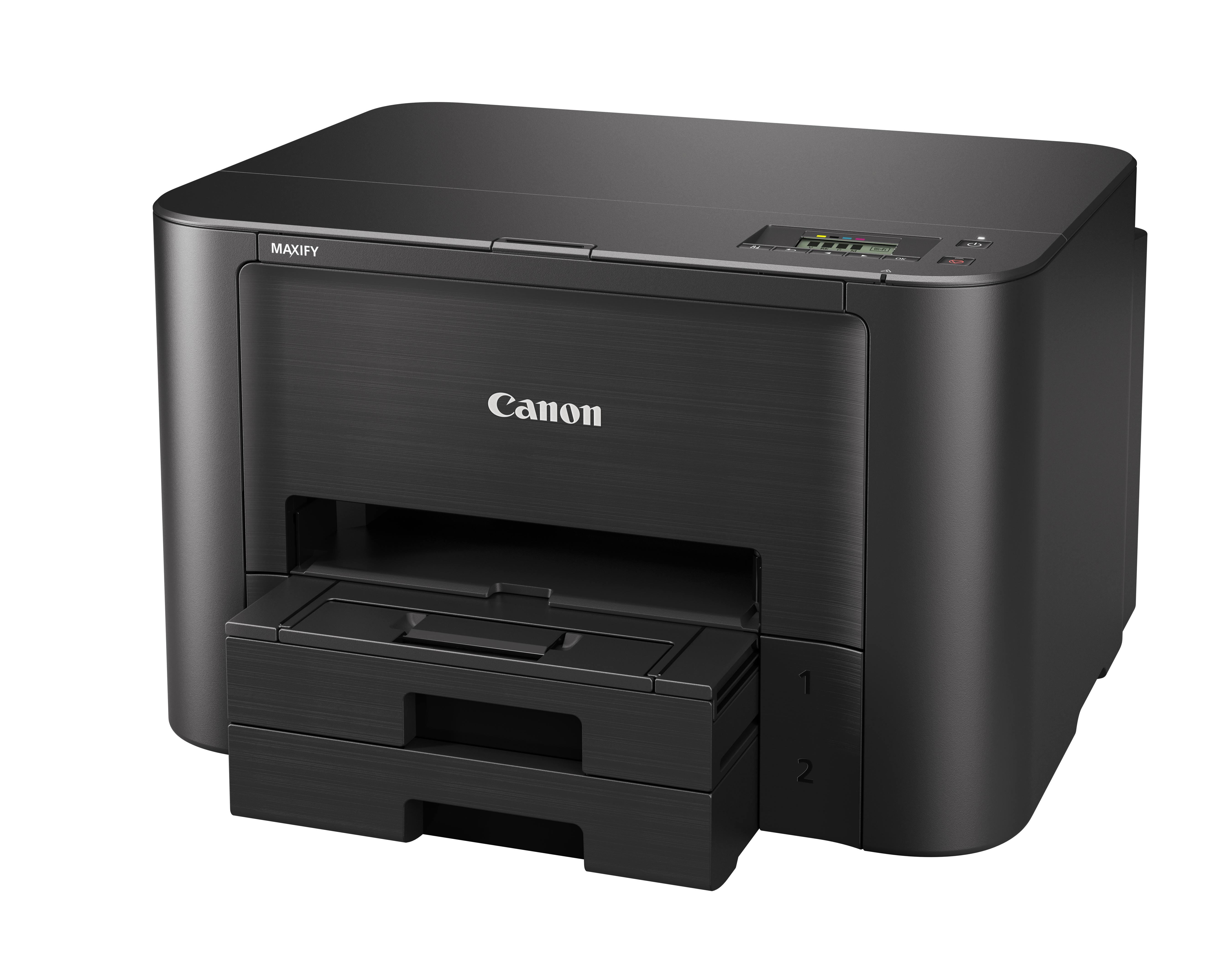 Canon Maxify iB4140 (0972C007) принтер струйный0972C007Canon Maxify iB4140 создан для гарантии высокой производительности, эффективности и надежности работы. Быстрая печать 24 изображения в минуту в монохромном режиме и 15,5 изображений в минуту в цветном режиме, увеличеный ресурс картриджа до 2500 страниц, низкие эксплуатационные расходы и поддержка Wi-Fi соединения — идеальный вариант для небольших офисных пространств. Цветной струйный принтер, который обеспечит высокую скорость и экономичность работы, даже при больших объемах печати, в любом небольшом офисном пространстве. Устройство Canon Maxify iB4140, оснащенное кассетой для бумаги повышенной емкости (на 500 листов), обеспечивает исключительные результаты печати с яркой цветопередачей и высокой четкостью текста за счет использования чернил DRHD, устойчивых к стиранию и маркерам. От низкого энергопотребления до чернильных картриджей с увеличенным ресурсом и цветных картриджей с возможностью индивидуальной замены — устройство Canon Maxify iB4140...
