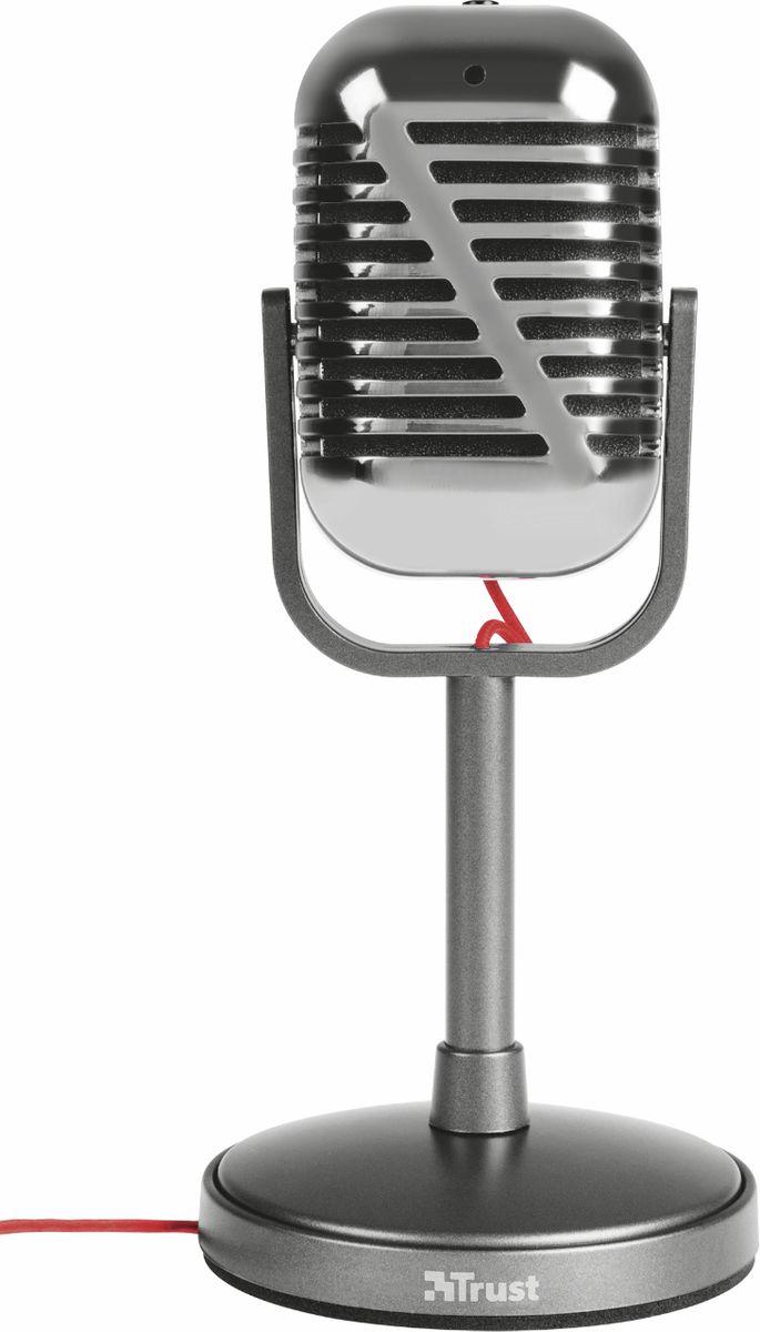 Trust Elvill Desktop Microphone, Black микрфон 20111