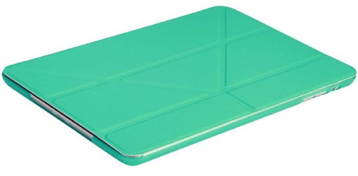 IT Baggage чехол для Apple iPad Pro 9,7, TurquoiseITIPADPRO97-6Чехол IT Baggage для планшета Apple iPad Pro 9,7 надежно защищает ваше устройство от случайных ударов и царапин, а так же от внешних воздействий, грязи, пыли и брызг. Крышку можно использовать в качестве настольной подставки для вашего устройства. Чехол приятен на ощупь и имеет стильный внешний вид. Он также обеспечивает свободный доступ ко всем функциональным кнопкам планшета и камере.