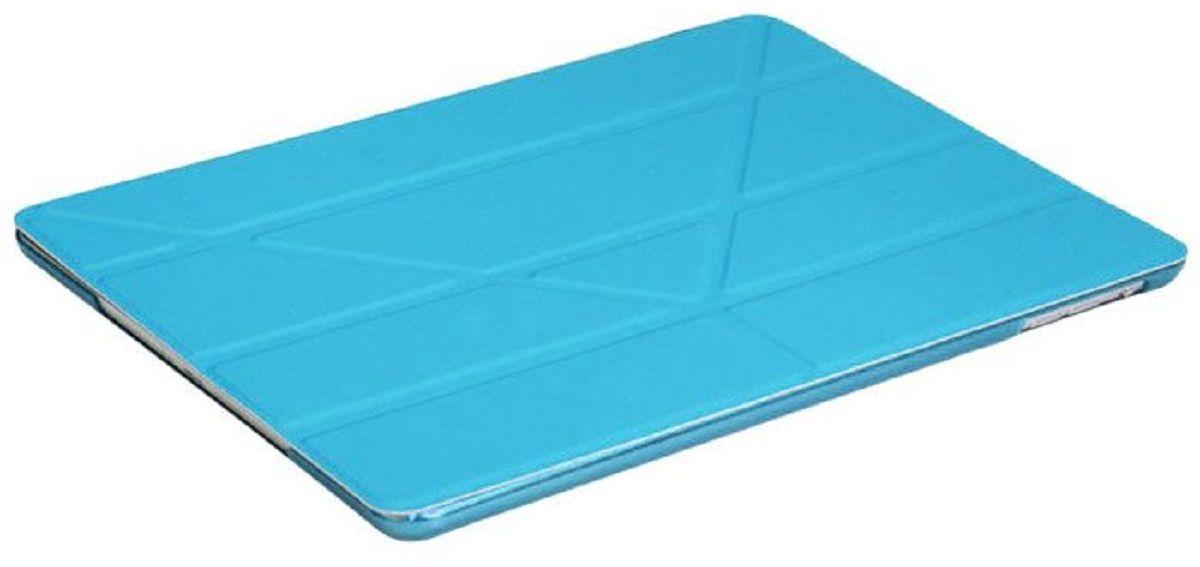 IT Baggage чехол для Apple iPad Pro 9,7 BlueITIPADPRO97-4Чехол IT Baggage для планшета Apple iPad Pro 9,7 надежно защищает ваше устройство от случайных ударов и царапин, а так же от внешних воздействий, грязи, пыли и брызг. Крышку можно использовать в качестве настольной подставки для вашего устройства. Чехол приятен на ощупь и имеет стильный внешний вид. Он также обеспечивает свободный доступ ко всем функциональным кнопкам планшета и камере.