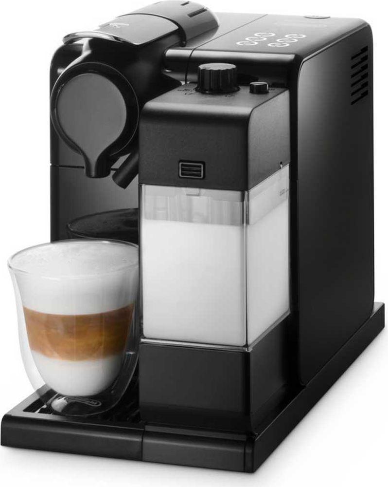DeLonghi EN550.B Nespresso Lattissima Touch кофеварка, Black кофеварка0132193182Кофемашина DeLonghi Lattissima Touch EN 550 позволит вам приготовить любимые кофейно-молочные напитки у себя дома всего одним касанием. Создавайте оригинальные рецепты с новой функцией приготовления молочной пенки. Предусмотрены программы приготовления капучино, латте-макиато, ристретто, эспрессо, кофе лунго и горячего молока. Можно настроить и сохранить в памяти машины количество кофе и молока на одну порцию для каждого из шести видов напитков. Функция автоматического отключения экономит электроэнергию.