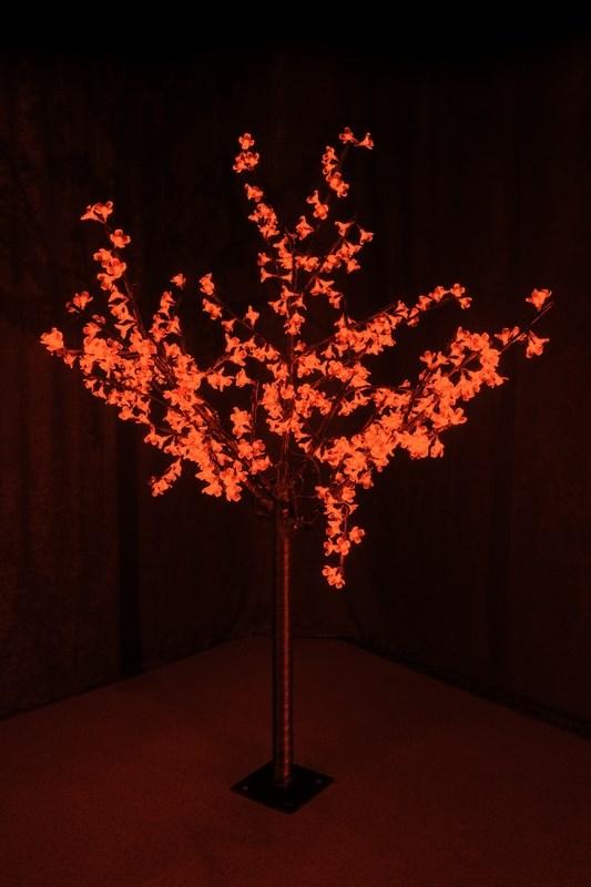 Светодиодное дерево Neon-Night Сакура, цвет: красный, диаметр кроны 130 см, высота 150 см531-302