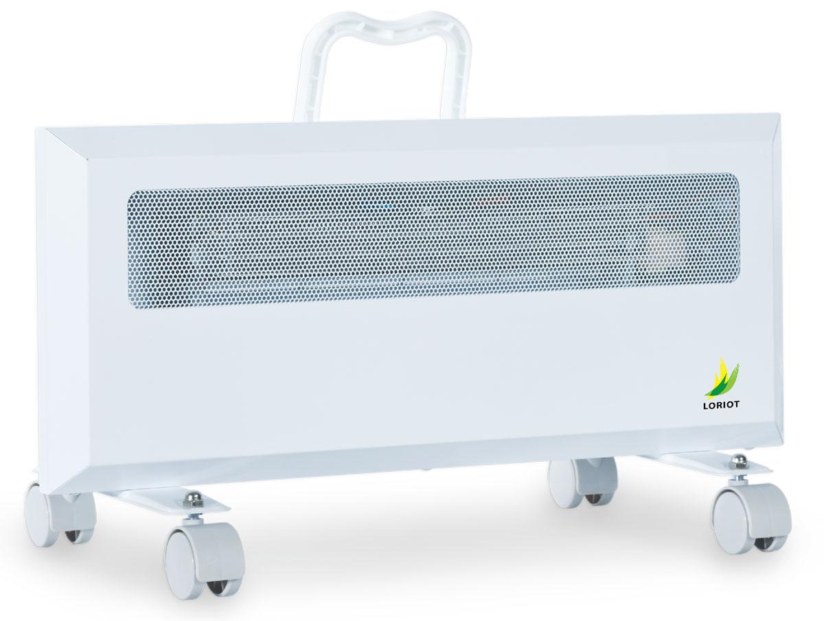 Loriot LHY 10/20 конвектор-тепловентиляторLHY 10/20Электрический конвектор Loriot LHY 10/20 предназначен для основного или дополнительного обогрева помещений. Может применяться в бытовых, служебных, производственных и складских помещениях малого метража. Основное преимущество электрического конвектора в сравнении с другими типа обогревателей в том, что принцип работы основан на естественной конвекции воздуха, что позволяет быстрее и эффективнее обогревать обслуживаемое помещение.