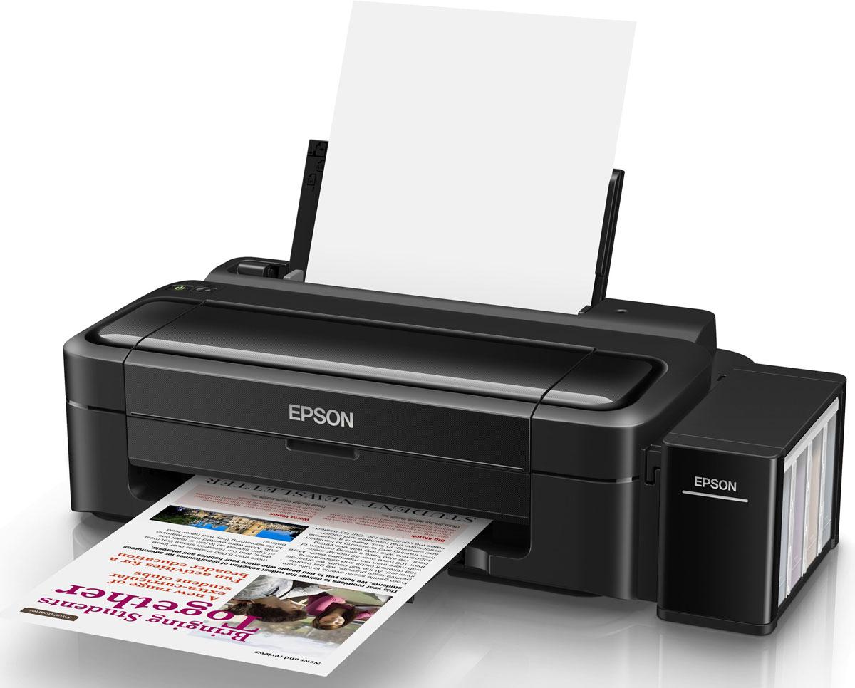 Epson L132 принтерC11CE58403Epson L132 - принтер со стартовым комплектом расходных материалов, рассчитанным на 3 года печати и возможностью печати фото без полей. Особенность всех устройств Фабрики печати Epson – это печать без картриджей. Вместо картриджей Epson L132 использует специальные емкости, из которых чернила поступают в печатающую головку через специальные тракты. При этом уникальное строение емкостей и трактов гарантирует высокое качество печати и надежность работы устройства даже без использования картриджей. Расходными материалами к Epson L132 служат контейнеры с чернилами высоким ресурсом. Так четырех контейнеров с голубыми, пурпурными, желтыми и черными чернилами хватит на печать 7500 цветных и 4500 ч/б документов, то есть при средней нагрузке в 300 страниц в месяц стартового набора чернил вам хватит почти на 3 года печати без необходимости закупки расходных материалов! Благодаря уникальной технологии печати Epson Micro Piezo и точному контролю давления в емкостях...