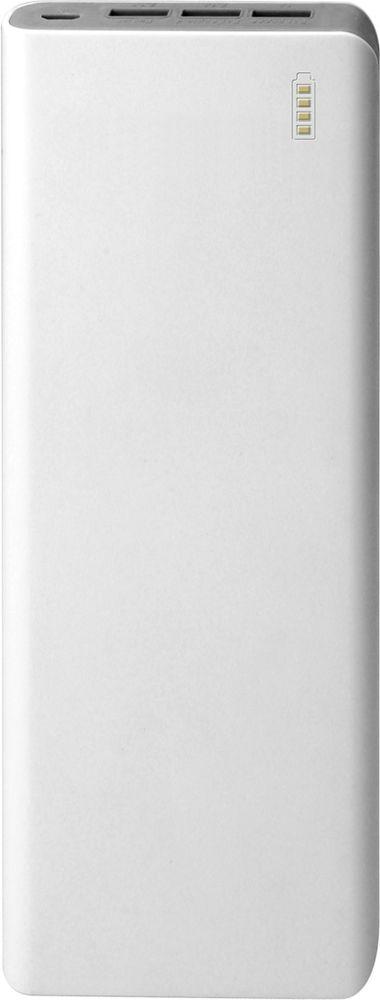 IconBIT FTB20000PB, White Grey внешний аккумуляторMCI54493Портативный аккумулятор IconBIT FTB20000PB заряжает большинство мобильных устройств с USB входом. Оставайтесь всегда на связи с FTB20000PB. Универсальный компактный размер не даст вашему телефону разрядиться где бы вы ни были: в путешествии, на работе или на природе. Встроенная защита от перегрева, перезаряда и короткого замыкания Автоматическое отключение, когда подключенное устройство заряжено Высококачественные литий-ионные элементы питания 18650 До 1200 часов в режиме ожидания Зарядка трех устройств одновременно