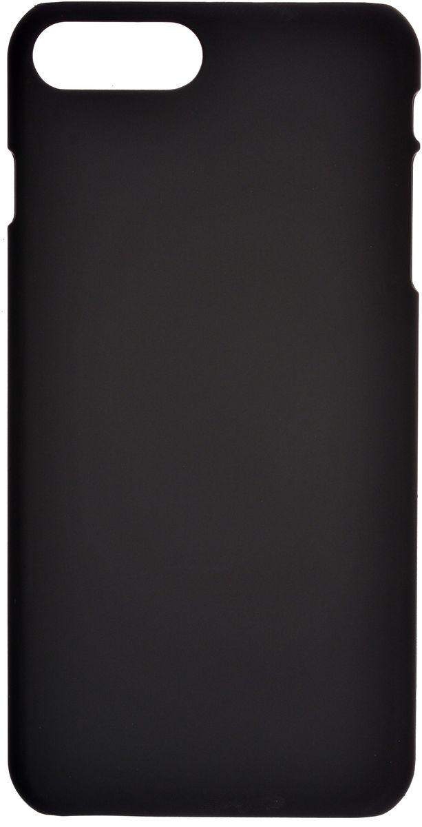 Skinbox 4People чехол для Apple iPhone 7 Plus + защитная пленка, Black2000000107073Чехол Skinbox 4People для Apple iPhone 7 Plus надежно защищает ваш смартфон от внешних воздействий, грязи, пыли, брызг. Он также поможет при ударах и падениях, не позволив образоваться на корпусе царапинам и потертостям. Чехол обеспечивает свободный доступ ко всем функциональным кнопкам смартфона и камере. В комплект идет защитная пленка на экран устройства.