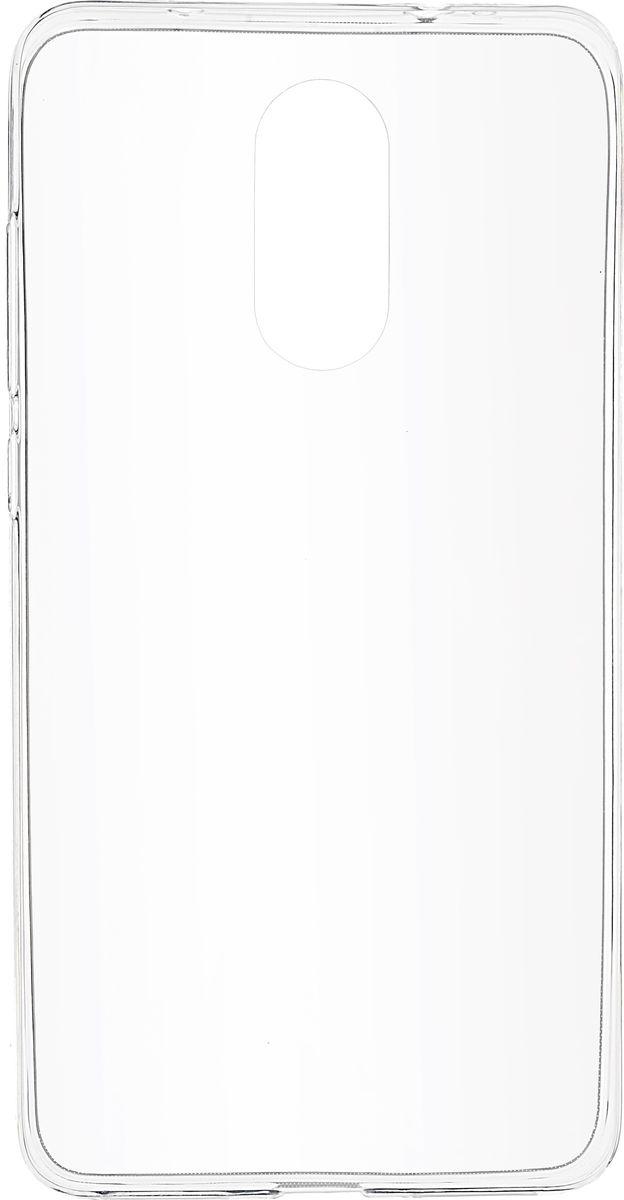 Skinbox Slim Silicone чехол для Xiaomi Redmi Pro, Clear2000000107776Чехол-накладка Skinbox Slim Silicone для Xiaomi Redmi Pro надежно защитит ваш смартфон от внешних воздействий, грязи, пыли, брызг. Он также поможет при ударах и падениях, не позволив образоваться на корпусе царапинам и потертостям. Чехол обеспечивает свободный доступ ко всем функциональным кнопкам, разъёмам и камере смартфона.