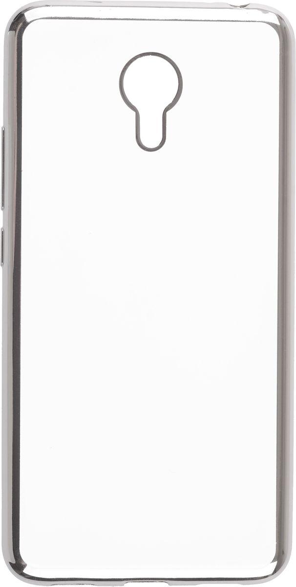Skinbox Silicone Chrome Border 4People чехол для Meizu M3 Note, Silver2000000105345Чехол-накладка Skinbox Silicone Chrome Border 4People для Meizu M3 Note бережно и надежно защитит ваш смартфон от пыли, грязи, царапин и других повреждений. Выполнен из высококачественного поликарбоната, плотно прилегает и не скользит в руках. Чехол-накладка оставляет свободным доступ ко всем разъемам и кнопкам устройства.