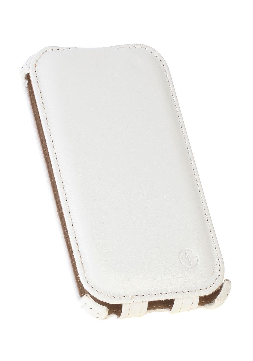 Pulsar Shellcase чехол для Samsung Galaxy J1 2016, White21919Чехол-флип Pulsar Shellcase для Samsung Galaxy J1 (2016) бережно и надежно защитит ваш смартфон от пыли, грязи, царапин и других повреждений. Выполнен из высококачественных материалов, плотно прилегает и не скользит в руках. Чехол оставляет свободным доступ ко всем разъемам и кнопкам устройства.