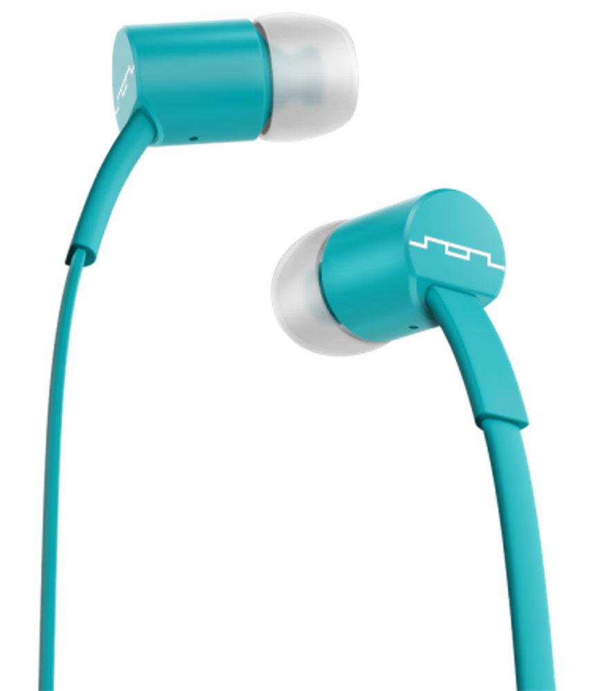 Sol Republic 1111-46 Jax Mfi, Sbs Turquoise наушники1111-46Внутриканальные наушники Sol Republic 1111 - это качественный звук, который всегда под рукой. Благодаря динамикам i5 Sound Engine наушники выдают мощное и насыщенное басами звучание, которое превзойдет ваши ожидания. Наушники снабжены плоским кабелем, а значит, вам не придется тратить кучу времени на распутывание проводов. Интегрированный трехкнопочный пульт ДУ с микрофоном позволят управлять воспроизведением, громкостью и отвечать на телефонные звонки. Комплект из сменных насадок четырех размеров обеспечит комфорт и прекрасную звукоизоляцию для использования наушников в транспорте или в другой шумной обстановке. В комплекте фирменный чехол.